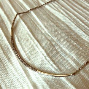 Stella & Dot silver necklace